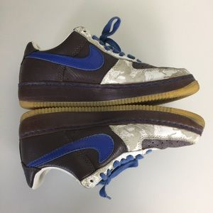 Nike Shoes - Nike AF1 Mens 2005 Inside Out Low Sneakers 9.5